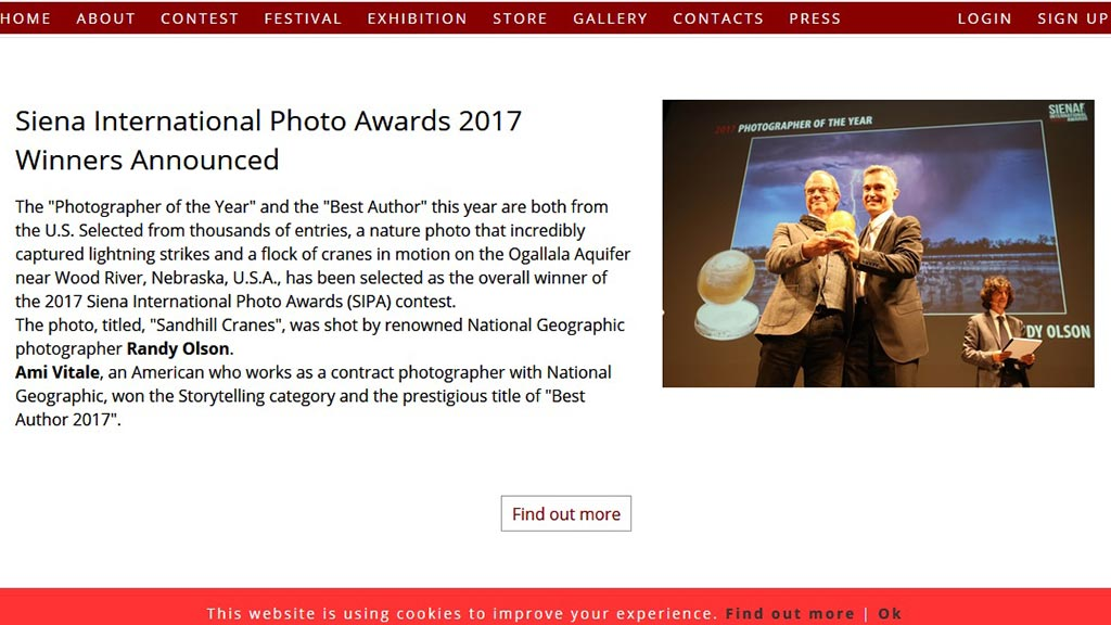 Wystawa Siena International Photo Awards